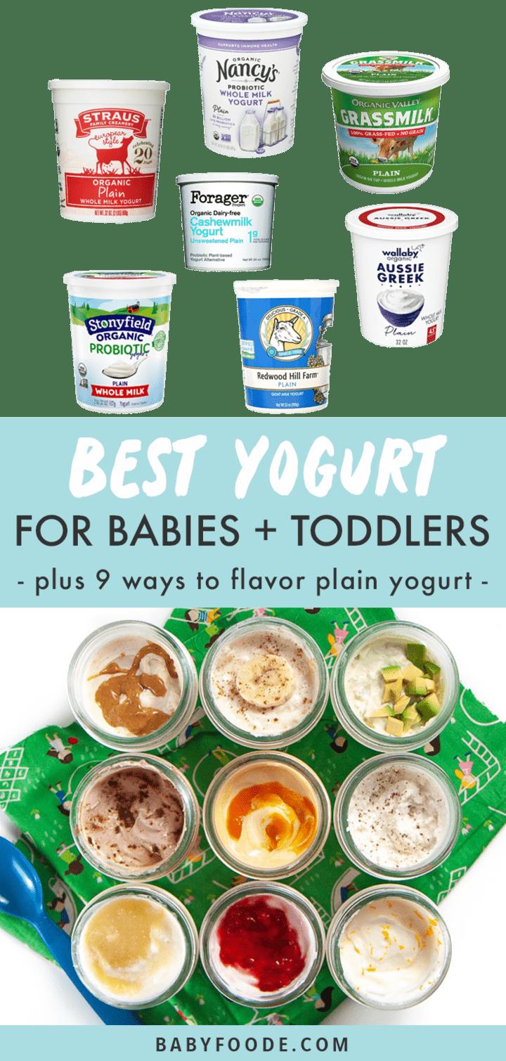 Best Yogurt For Babies Plus 9 Ways To Flavor Plain Yogurt Baby Foode
