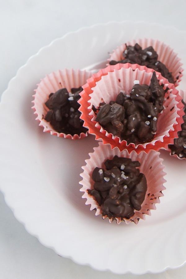 Dark Chocolate Cherry Almond Clusters Baby Foode
