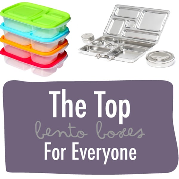 A graphic for the post - The top bento boxes for everyone.