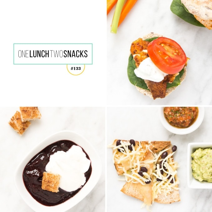 Grid of meal images