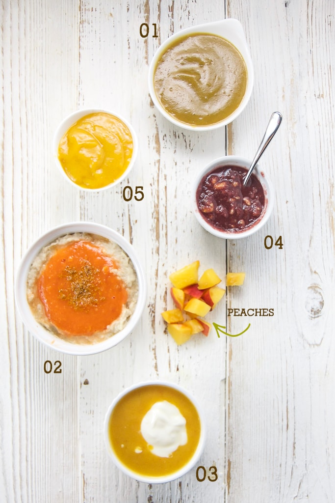 Puree Baby Food Recipes Led Weaning