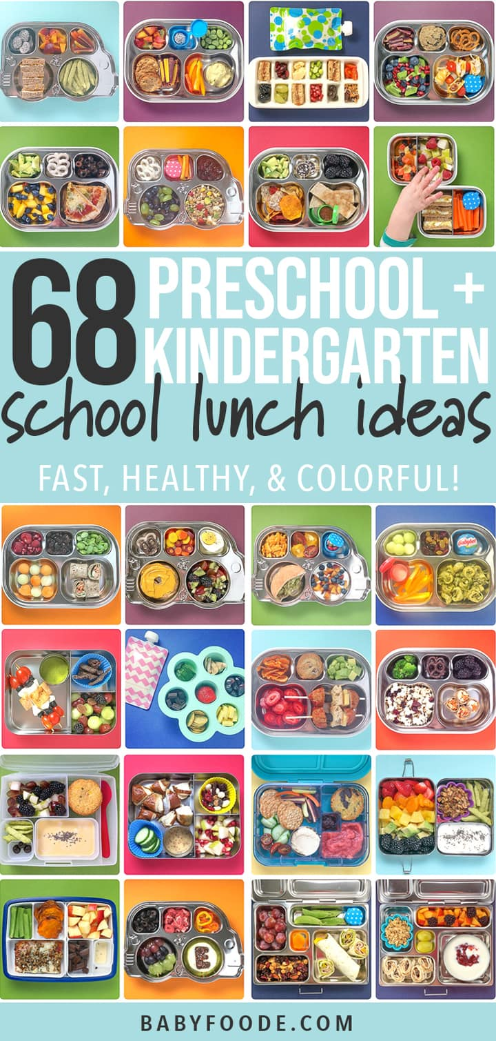 68 Healthy Preschool Kindergarten School Lunch Ideas Baby Foode