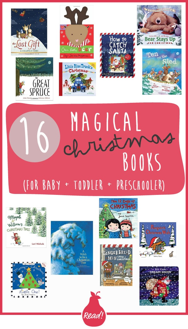 December Bookclub - 16 Magical Christmas Books for Baby +