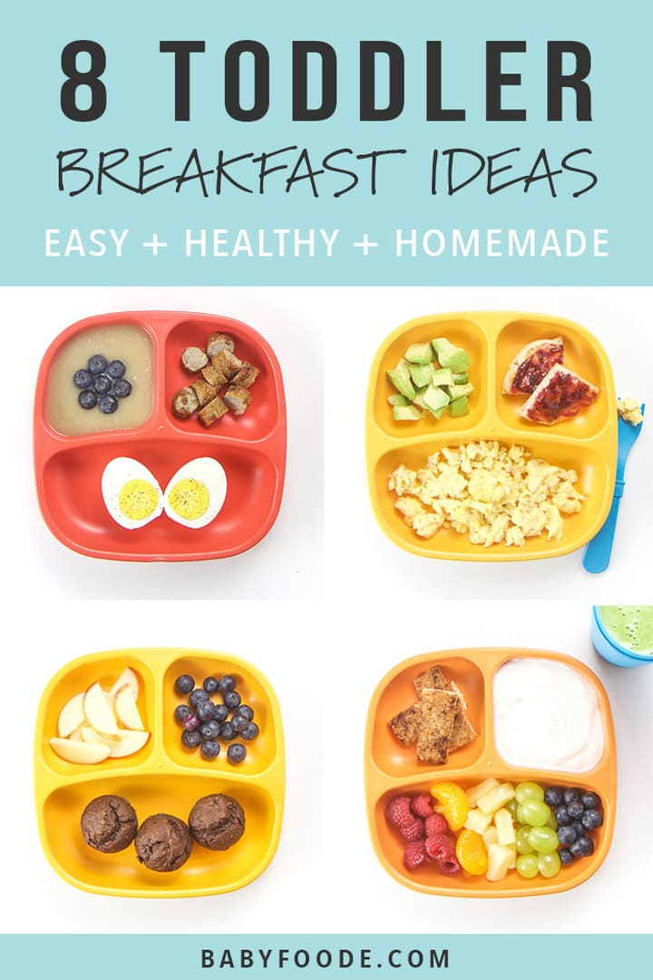 8 Healthy Toddler Breakfasts Baby Foode