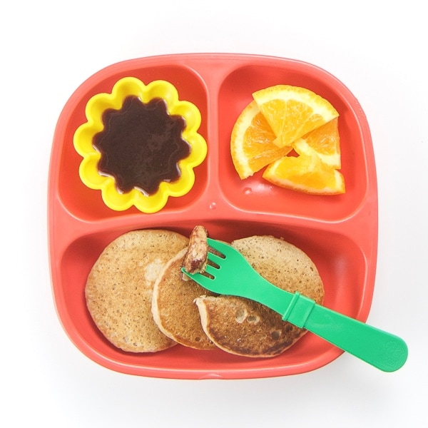 toddler breakfast idea for an easy and healthy morning.