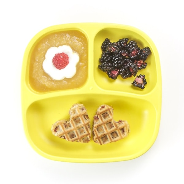 toddler breakfast plate with easy ideas