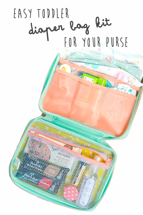 Easy Toddler Diaper Bag Kit For Your Purse Baby Foode