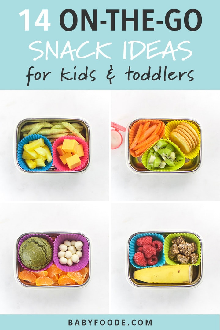 14 On The Go Healthy Snacks For Kids Toddlers Baby Foode