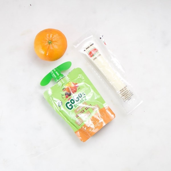 easy on the go snack for toddler