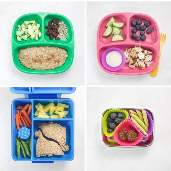 What my toddler eats in a week - 2 weeks worth of meals.