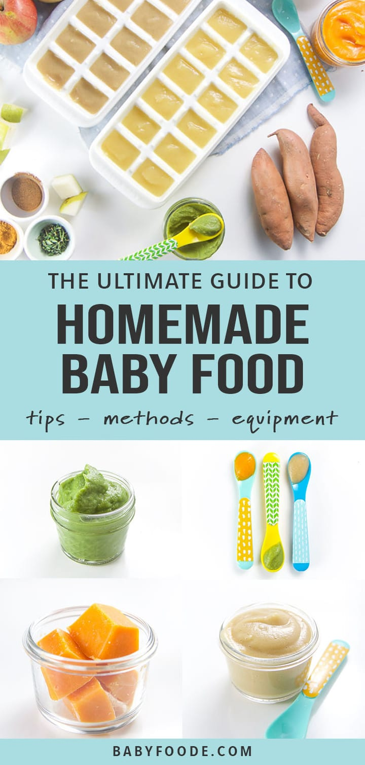 Ultimate Guide On How To Make Homemade Baby Food Baby Foode