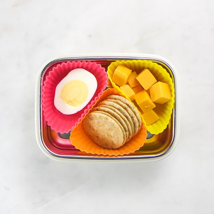 bento packed with a healthy toddler and kid snack.