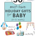 50 must have holiday gifts for baby
