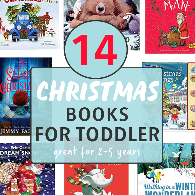 14 Christmas Books for Toddlers.