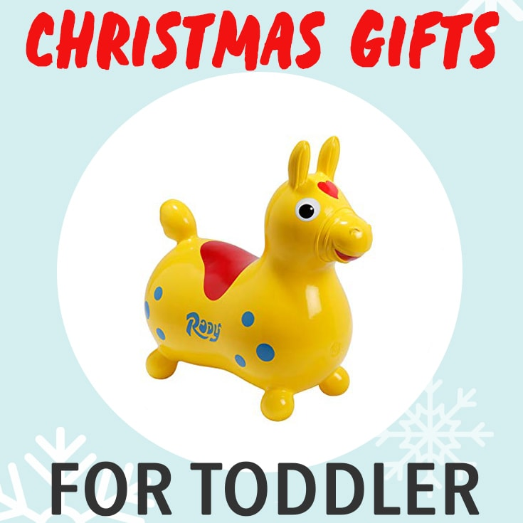 Christmas Gifts for Toddler - a guide to over 75 amazing gifts for ages 2-4.