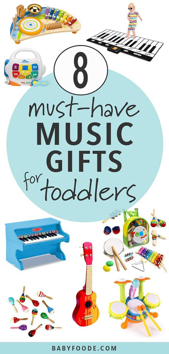 must have music gifts for toddlers.