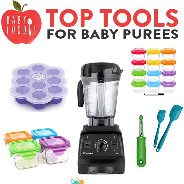 Top Tools for Baby Purees with images of my favorite kitchen tools