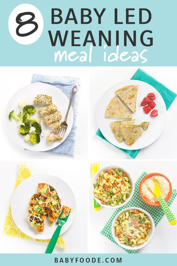8 Baby Led Weaning Meal Ideas For Baby Toddler Baby Foode