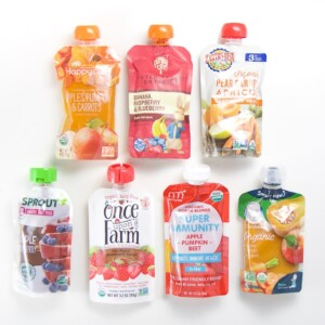 A layout of the best baby food pouches.