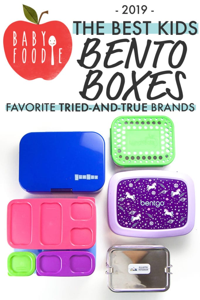 Graphic for The Best Bento Boxes for Kids - favorite tried-and-true brands.