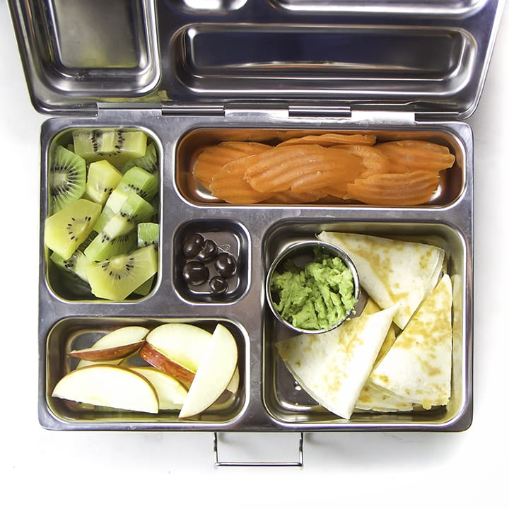 School Lunches - bento box filled with a healthy lunch for kids.