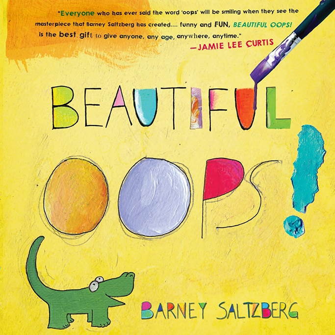 best art book for toddler - beautiful oops!