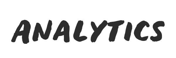 Analytics for blog