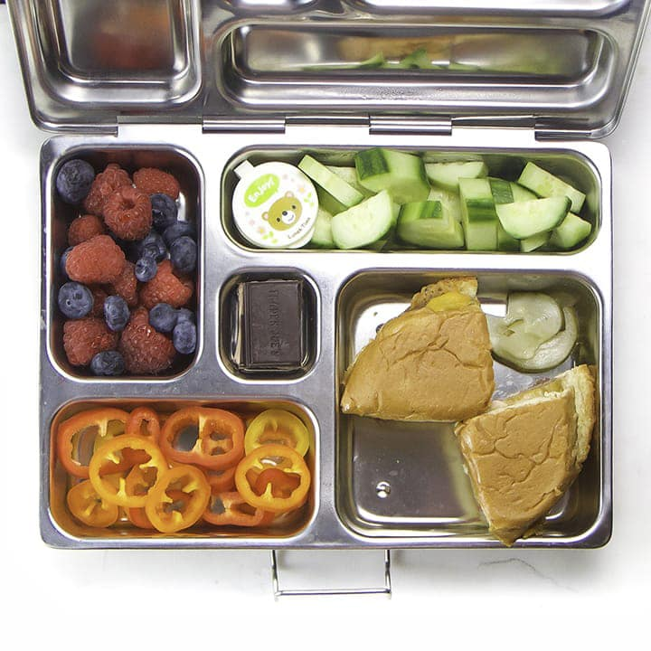 an easy packed lunch for kids going to school.