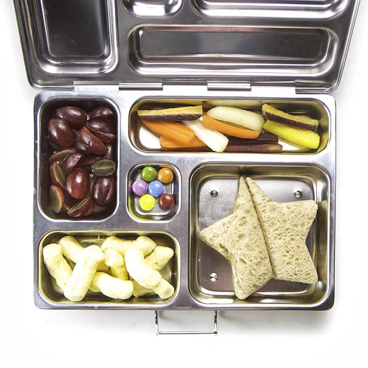 An easy lunch box idea for kids on the go.