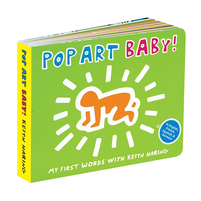 Best Art Books for Baby and Toddler with Pop Art Baby book.