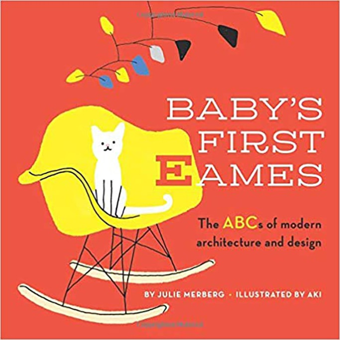 Baby's First Eames - best art book for baby