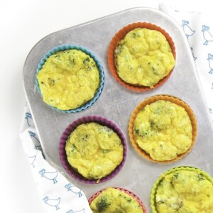 Broccoli Egg Cups For Baby Toddler Baby Led Weaning