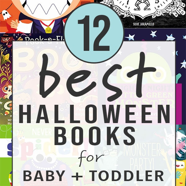 Graphic for post- 12 best halloween books for baby + toddler