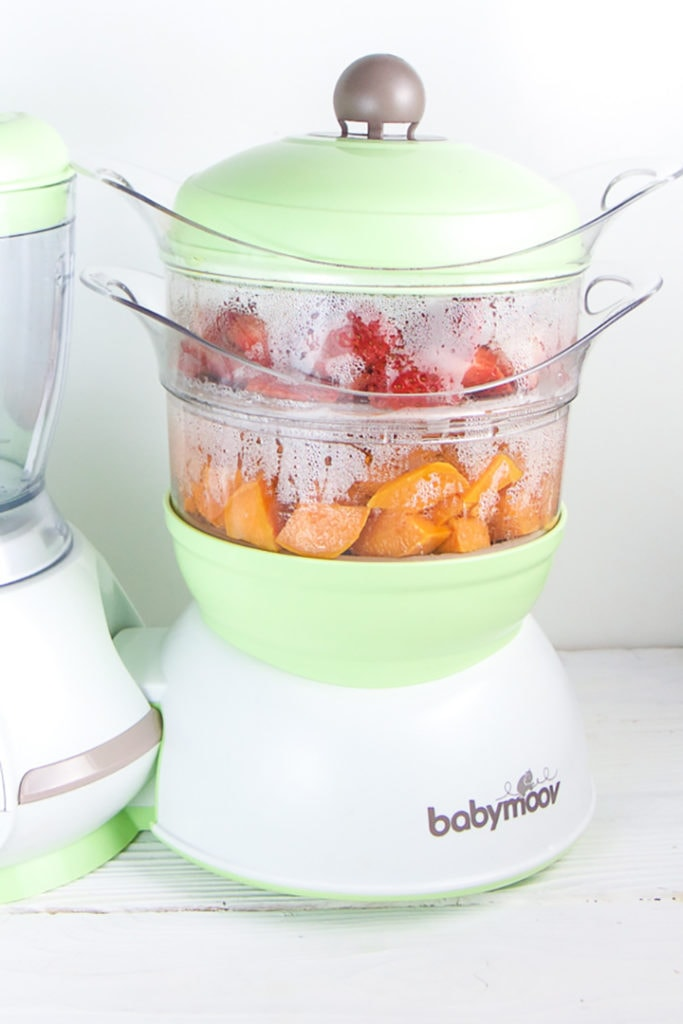 Strawberry, Sweet Potato + Farro Baby Food (stage 2 or 3) - Baby Foode