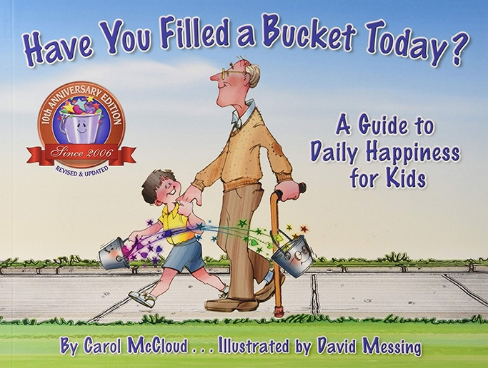 Have a filled a bucket today book cover about kindness