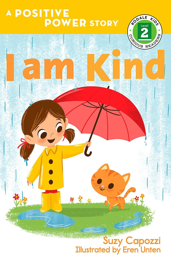 Toddler book cover - I am kind