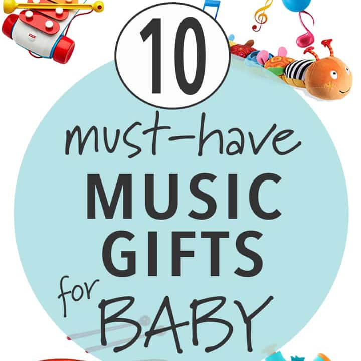 10 Must Have Music Gifts for Baby's first Christmas.