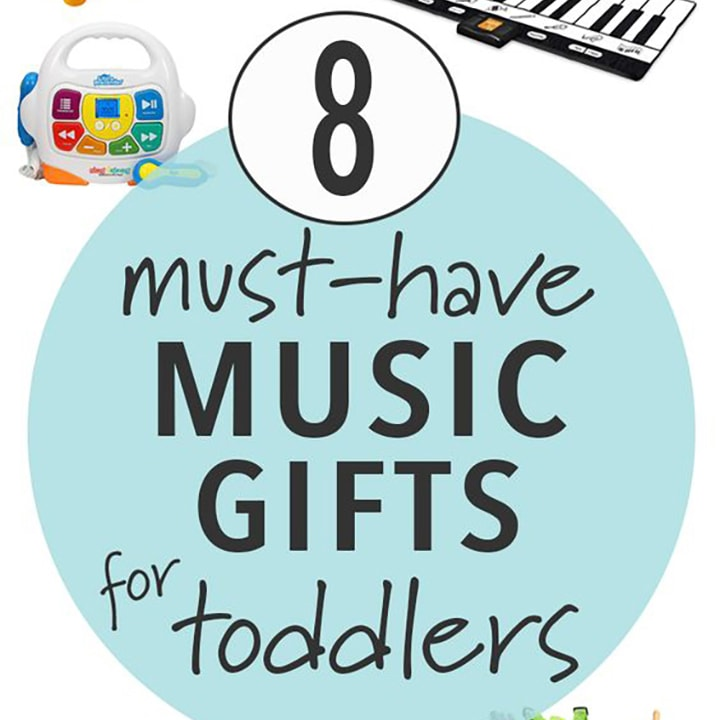 Must have music gifts for toddlers for the holidays.