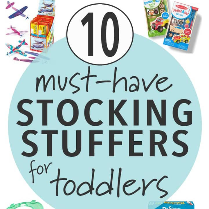 must have stocking stuffers for toddlers.