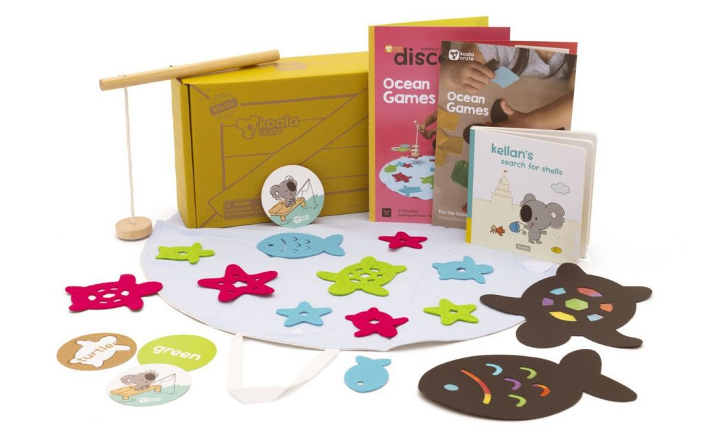 supplies found in this Baby & Toddler Subscription Box.