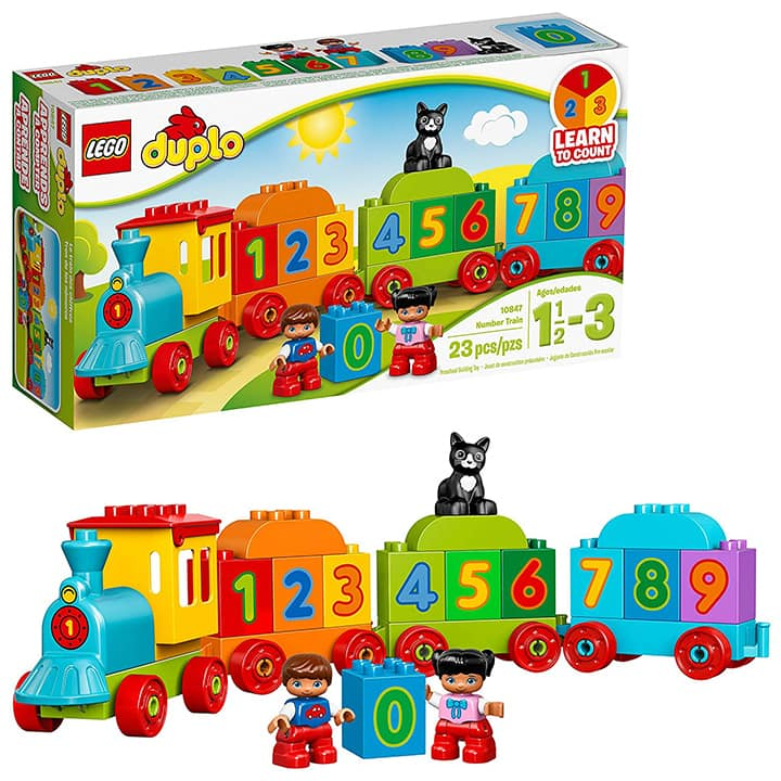 duplo gift set of a train for toddler christmas gifts