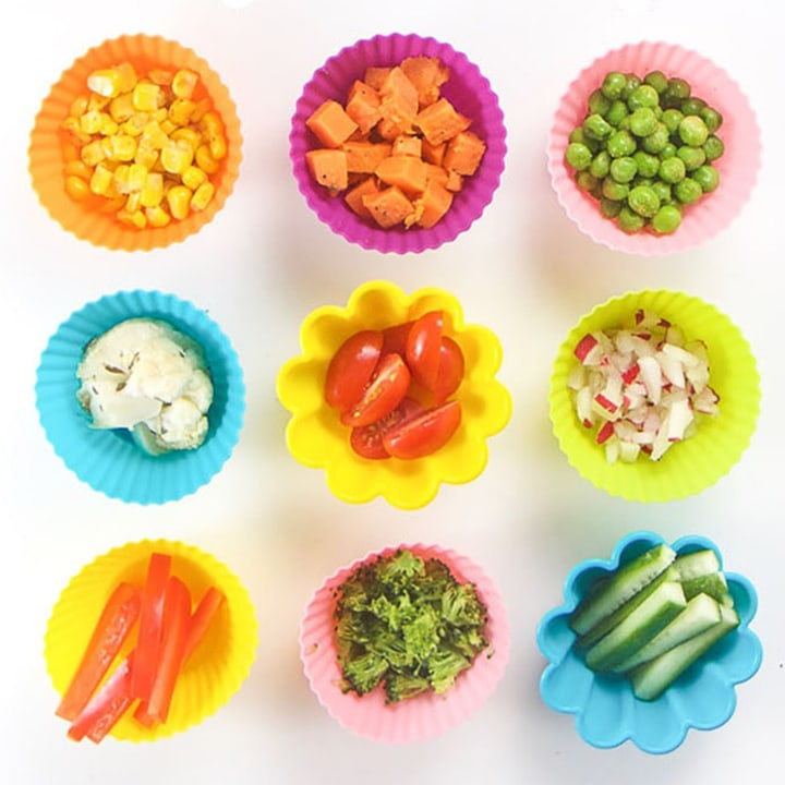 baby led weaning starter vegetables