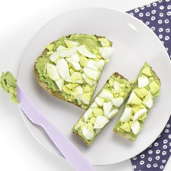 avocado toast for toddler