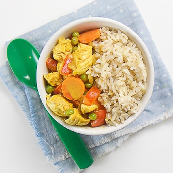 chicken curry with rice for toddler