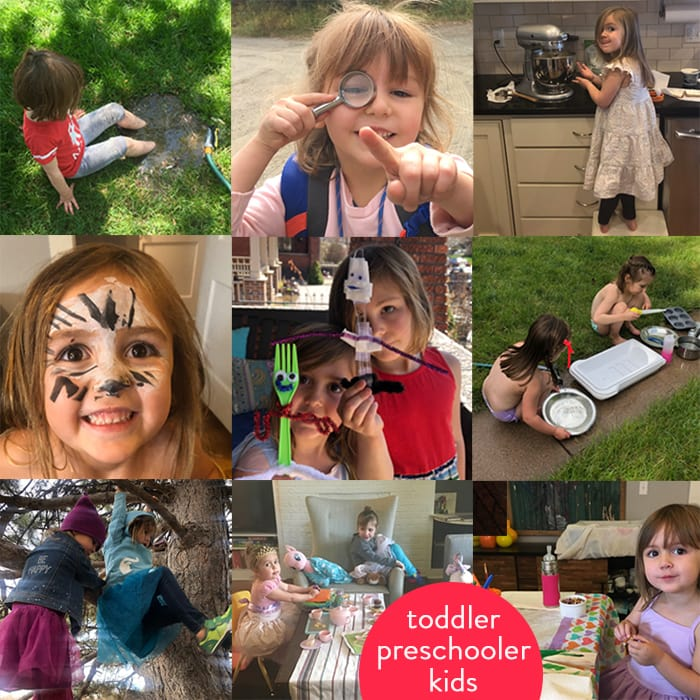 images of kids involved in a ton of fun activities.