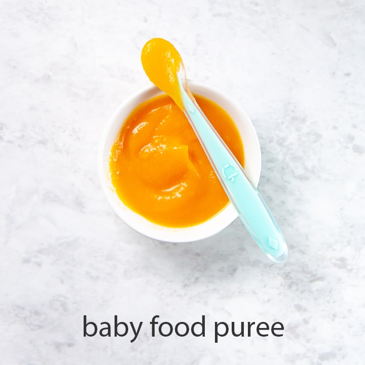 squash for baby is a great baby food puree