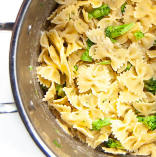 Garlic pasta in one-pot which is a family favorite.