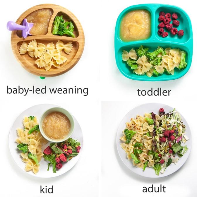 Easy Cheesy Garlic Broccoli Pasta Family Favorite Baby Foode