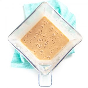 Blended smoothie for toddlers and kids